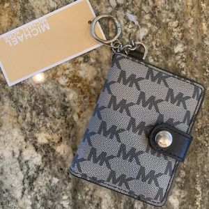 NWT Michael Kors Keychain + Picture Holder